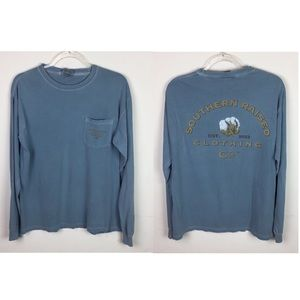 Southern Raised Clothing Co Long Sleeve Cotton Tee